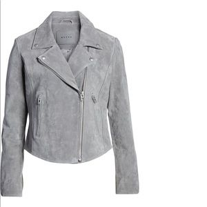 BLANK NYC Suede Moto Style Jacket